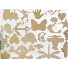 MDF Large silhouette Shapes Cutouts