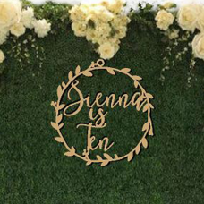 CUSTOM design Extra Large Wreath for special events