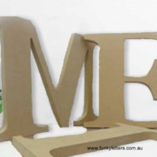 FREE STANDING 15cm to 30CM  18mm THICK LETTERS & NUMBERS UPPERCASE
