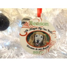 Christmas Baubles Dog Memorial