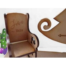 Christmas in Heaven Chair