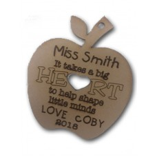 It takes a big Heart Personalised Christmas decoration
