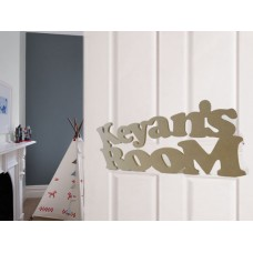 Kids Room Signs unpainted
