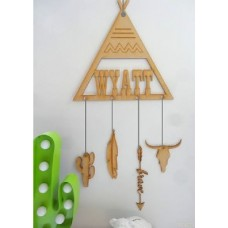 Dream catcher Personalised TeePee shaped