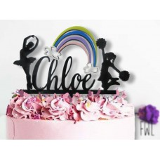 "Custom Designed Cake Toppers "" work with us """