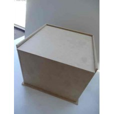 MDF Large Flip Lid Keepsake Box MC