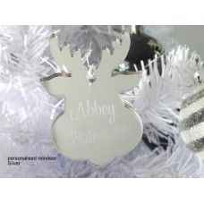 Christmas Decorations cute shapes with custom engraving