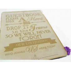 guest Book Drop box signs
