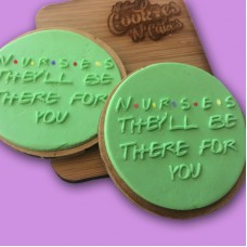 Nurses / Doctors they'll be there for you |The Cookie Debosser ™