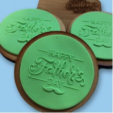 Happy  Fathers day |The Cookie Debosser ™