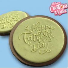 Happy fathers day scripted  |The Cookie Debosser ™