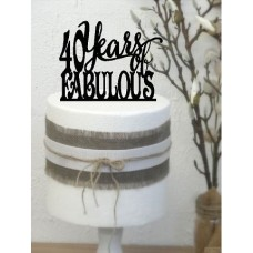 40 years fabulous