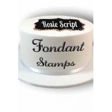 Fondant stamps Rosie  sets