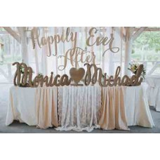 Extra Large Wedding Signs with & or Heart 3 pieces