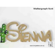 Free Standing 15 cm -40 cm Wooden Names / Words
