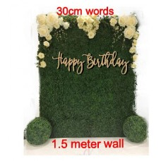 Birthday  Words for Large floral walls and back drops Generic