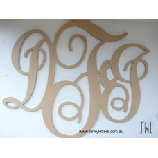 Extra Large Monogram Wall signs