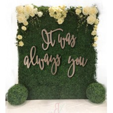 Large Generic Quotes  for floral walls and back drops