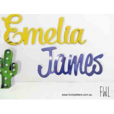 Painted Wooden Wall signs