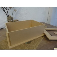 MDF Box with solid lid