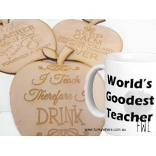 Teacher coasters priced per piece