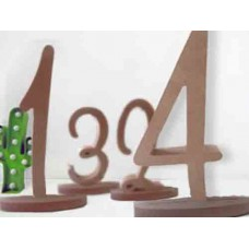 Individual table numbers