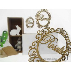 Bachara Monogram Decorative frames