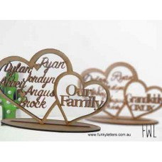 Double Heart Family tree